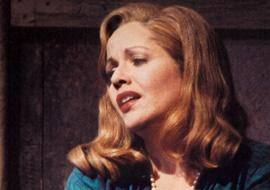 """Renee Fleming as Blanche Dubois in the Lyric Opera production of Andre Previn's """"A Streetcar Named Desire."""""""