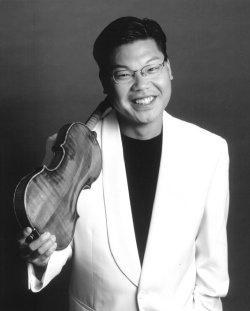 Violinist Benny Kim, featured with the Des Moines Symphony Orchestra on Bruch's Violin Concerto.