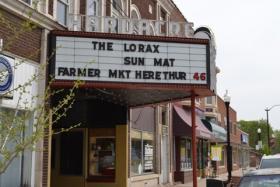 The Hardacre Theater in Tipton