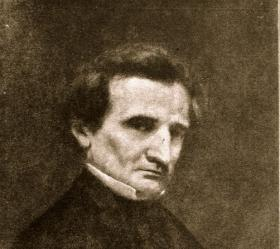 Hector Berlioz, as painted by Gustave Courbet