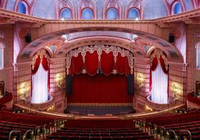 The refurbished Paramount Theatre in Cedar Rapids.