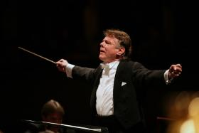 Latvian maestro Mariss Jansons, chief conductor of Amsterdam's Royal Concertgebouw Orchestra