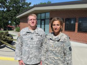 Chaplain Gary Selof and Major Amy Price are tasked with fighting suicides in the Iowa National Guard.