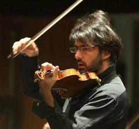 Greek violinist/ conductor Leonidas Kavakos