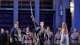 Lohengrin in the San Francisco Opera's production.
