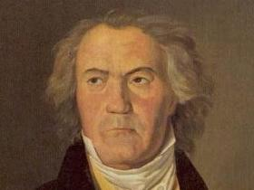 Beethoven painted during the time he was composing his Ninth Symphony.