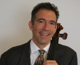 Cellist Anthony Arnone of the University of Iowa