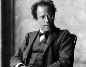 Gustav Mahler in 1907, a year before he began work on his Ninth Symphony