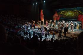 Des Moines Metro Opera presents Benjamin Britten's Peter Grimes.