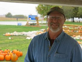 Pumpkin growers in central Illinois, like John Ackerman, have cashed in for years on the nation's appetite for holiday sweets and the area's reputation as a pumpkin capital.