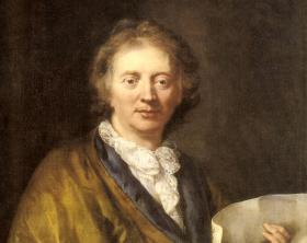 "French Baroque composer Francois Couperin, ""The Great,"" who inspired Ravel and Thomas Ades."
