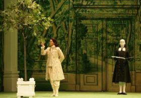 "Susan Graham in the Houston Grand Opera's ""Xerxes"""