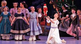 Ballet Quad Cities performing the Nutcracker.