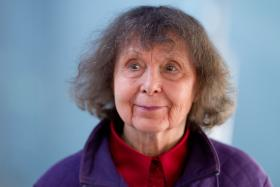 Sofia Gubaidulina, one of Russia's great living composers, whose career blossomed internationally after the collapse of the Soviet Union.