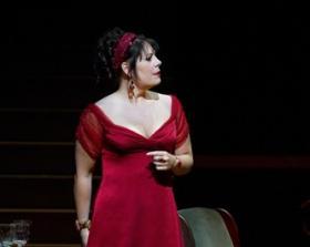 Sondra Radvanovsky as Floria Tosca in the Met's production