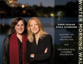 "Dawn Upshaw and Maria Schneider, ""Winter Morning Walks"" - one of our choices for best CDs of 2013."
