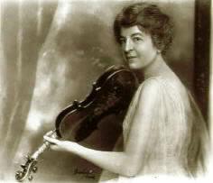 The pioneering American violin great, Maud Powell