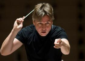 Esa-Pekka Salonen, the Finnish composer and conductor.