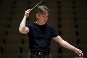 Finnish composer/ conductor Esa-Pekka Salonen.