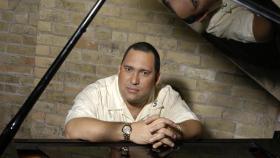 Cuban jazz pianist Nachito Herrera, who will appear at the UNI's Tallcorn Jazz Festival.
