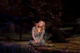 Renee Fleming as Rusalka in Dvorak's opera at the Metropolitan Opera