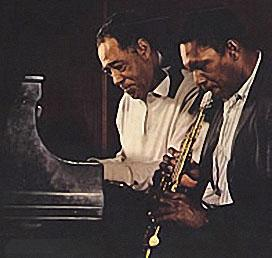 Duke and Trane from the cover of their LP together. That these two giants were artists is disputed by exactly no one!