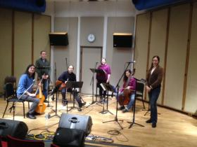 Fathom in IPR's Studio One in Cedar Falls, February 28, 2014