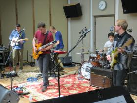John June Year perform in IPR's Studio One.