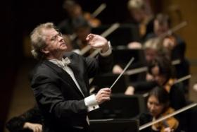 Finnish conductor Osmo Vanska with the Minnesota Orchestra