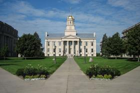 Less than half of University of Iowa's fall freshmen are from Iowa. There is a proposal before the Board of Regents to move some of U of I's funding to the other state universities that have a higher enrollment of in-state students.