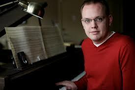 Composer Jacob Bancks of Augustana College