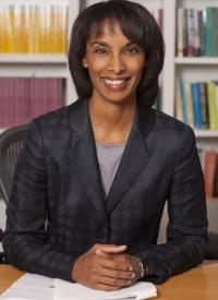 Cecilia Rouse of Princeton, where she is: Dean of the Woodrow Wilson School of Public and International Affairs; Katzman and Ernst Professor in the Economics of Education; Professor of Economics and Public Affairs; and Founding Director of the Education Research Section.