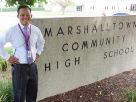 Aiddy Phomvisay at Marshalltown High School
