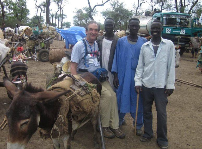During his two weeks in South Sudan, Dr. Koslow has spent time both in a hospital and walking around a refugee camp offering medical help.