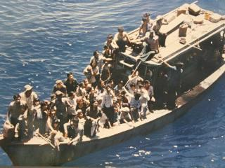 """The """"boat people"""" of Vietnam risked everything to escape Communist control"""