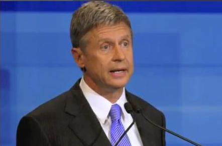 Former New Mexico Gov. Gary Johnson - a former Republican - will appear on the November ballot in Iowa as a Libertarian presidential candidate.