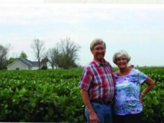 Barb and Lynn Handy have farmed in western Iowa for all of their married lives. They were married 52 years ago.
