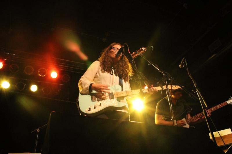 Dana Halferty is the founder and lead singer for the Des Moines band Parlours.