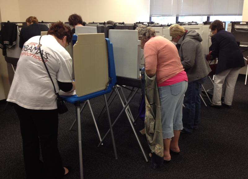 Iowans are the first swing-state voters to cast ballots in person.