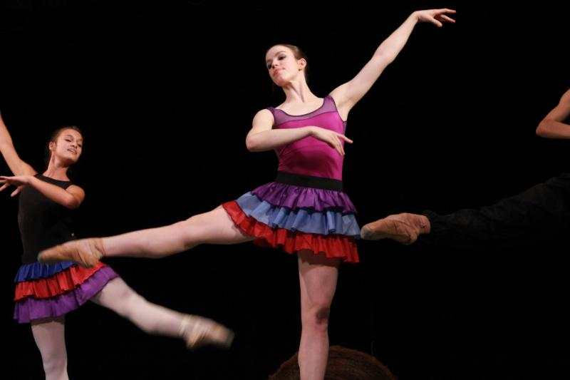 Carrie Ruth Trumbo is one of the six professional dancers hired to work with Ballet Des Moines 2012-2013 season