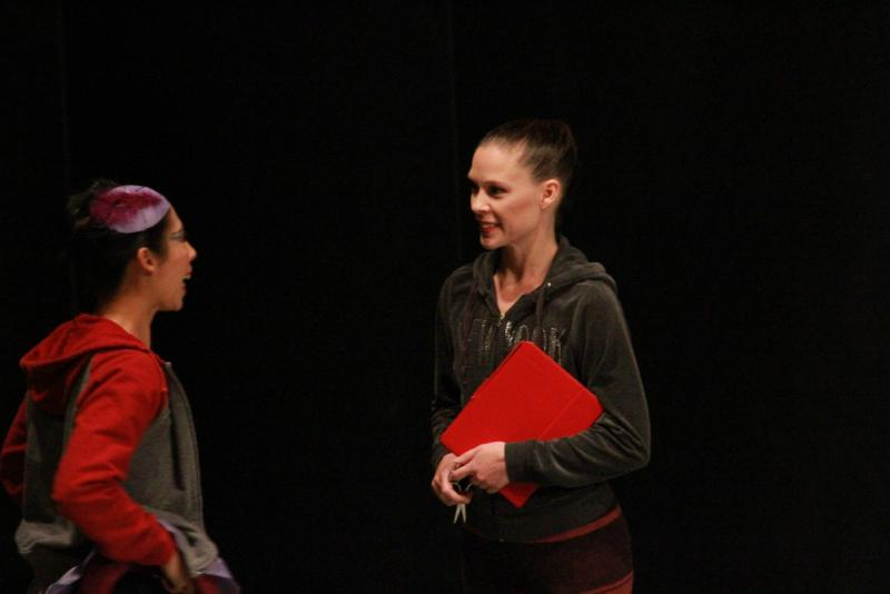 """Lori Grooters is the ballet mistress for Ballet Des Moines and choreographer for the ballet """"Nesting"""""""