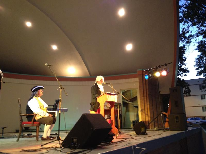 Liberty Fest, a gathering mostly for former Ron Paul supporters, included theatrical readings of the U.S. Constitution.