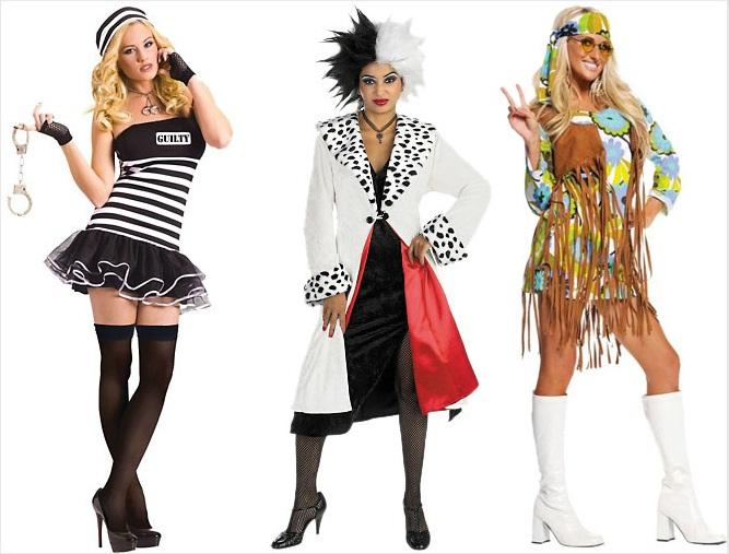 Halloween costume options for women