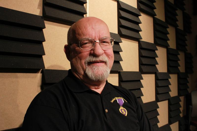 Veteran Steve Hyde in IPR's Des Moines studio