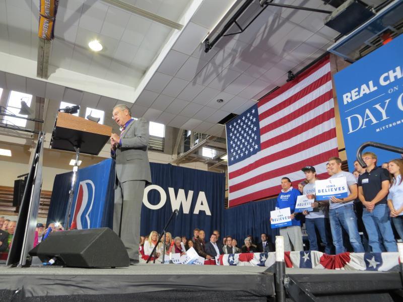 U.S Senator Chuck Grassley at the Ryan event