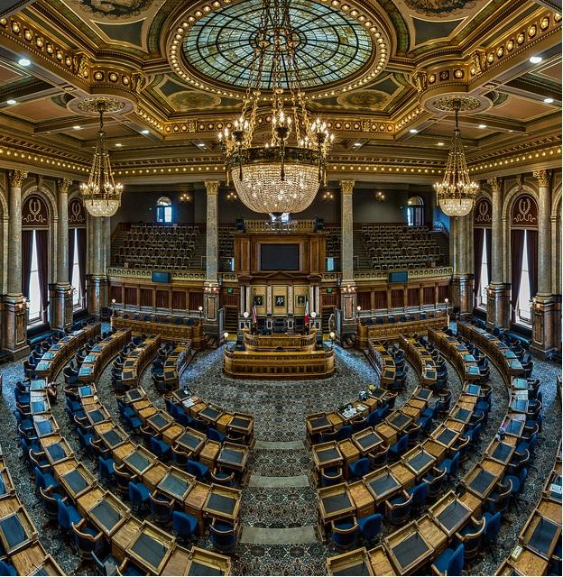 Iowa state house - square crop