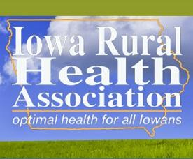 Iowa Rural Health Assocation logo