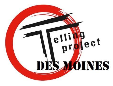 """""""Telling: Des Moines"""" logo"""