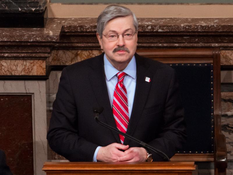 Governor Terry Branstad delivers his Condition of the State