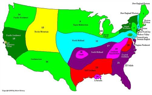 Dialects of English in the United States.